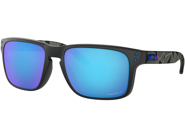 Oakley Holbrook Sunglasses matte black/prizmatic prizm/sapphire polarized